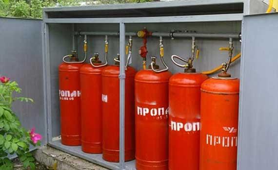 заправка газового баллона 5 литров